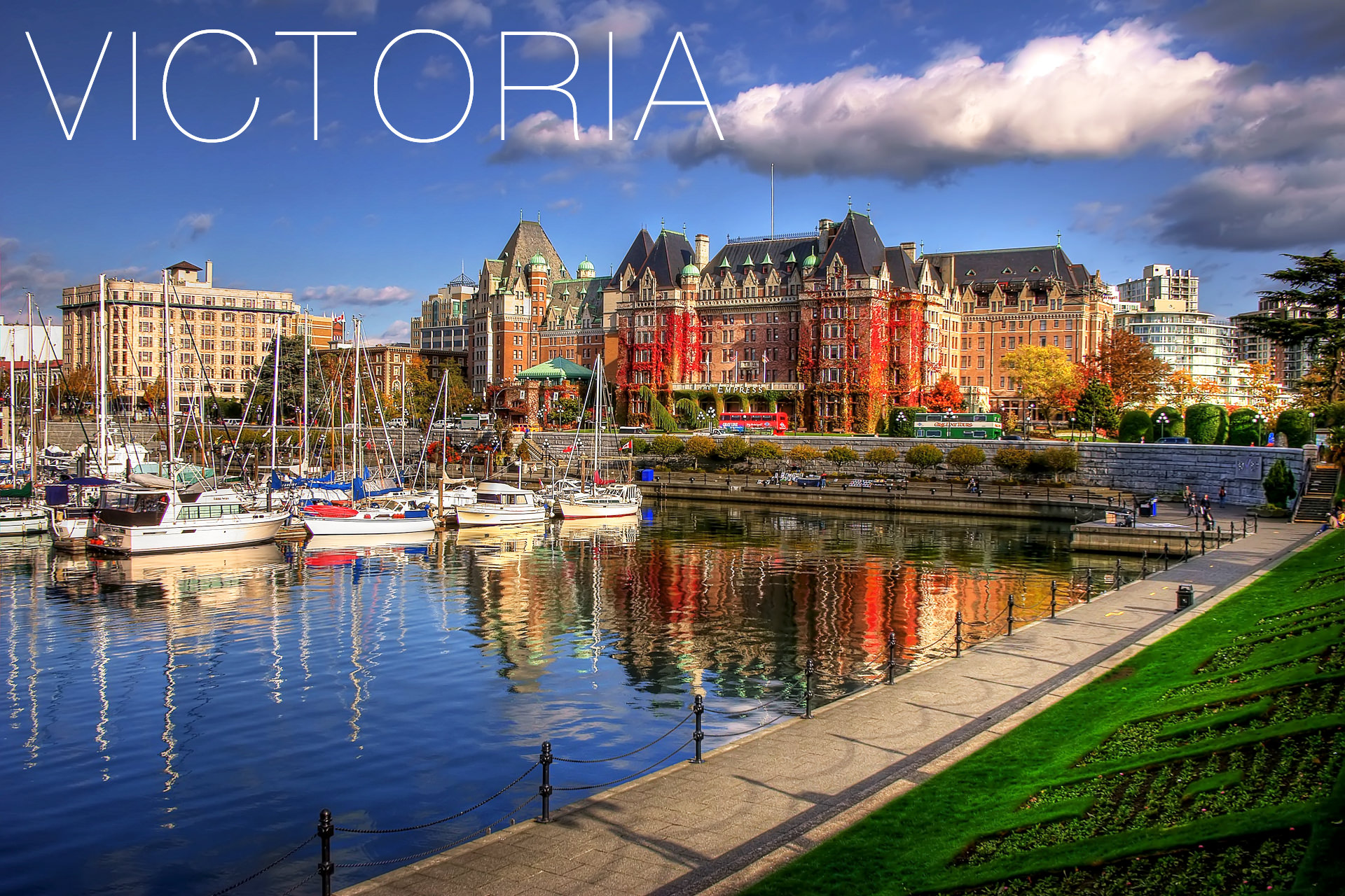 Study English in Victoria, Canada at Global Village English.