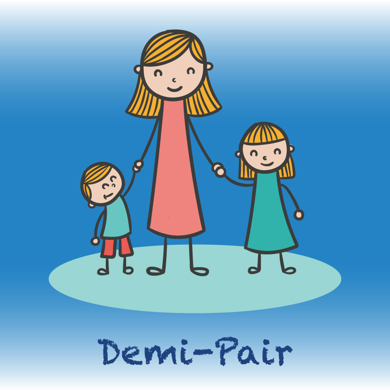 Study and work as a demi-pair