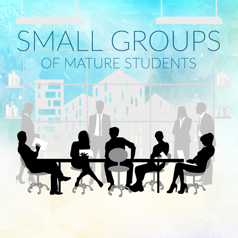 Study Business English in small groups